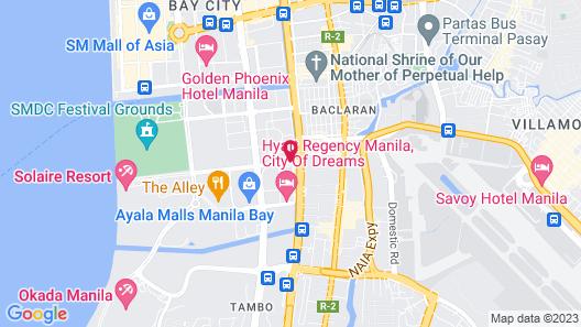 City of Dreams - Nüwa Manila Map