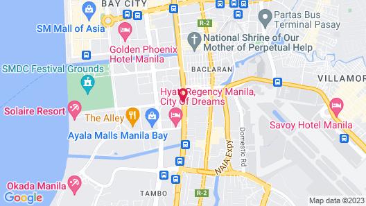 City of Dreams - Nobu Hotel Manila Map