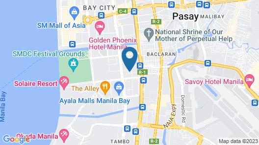 Sequoia Hotel Manila Bay Map