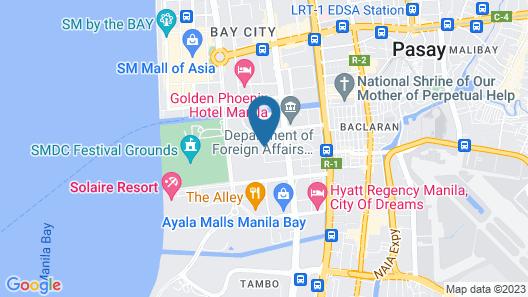Hop Inn Hotel Aseana City Map