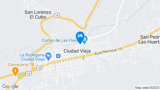 Casa Cabo AN028 Map