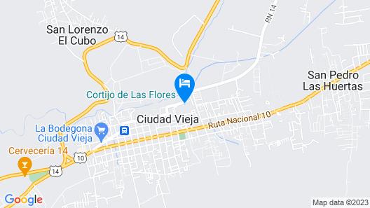 Casa Cabo AN023 Map