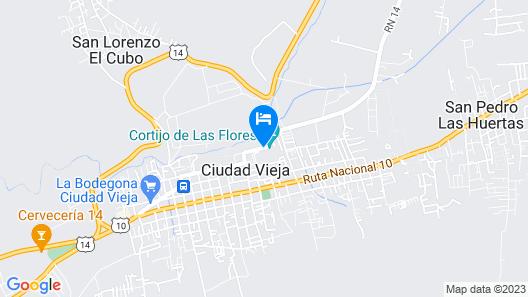 Casa Cabo AN024 Map
