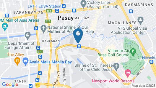 OYO 181 Manila Airport Hotel Map