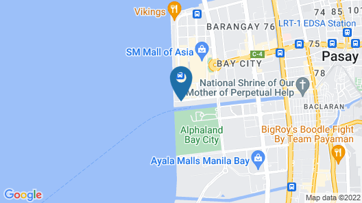 Microtel by Wyndham Mall of Asia Map
