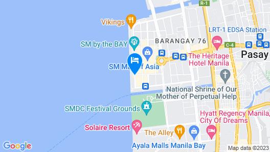 Conrad Manila Map