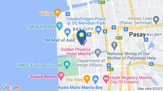 Golden Phoenix Hotel Manila Map