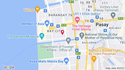 Citadines Bay City Manila Map