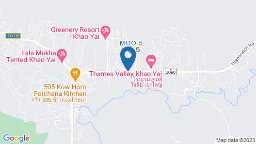 Le Monte Hotel Khao Yai Map