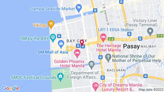 Hotel 101 Manila Map