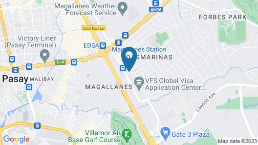 ZEN Premium Magallanes Makati Map