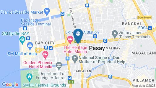 Hotel Sogo EDSA Harrison Map