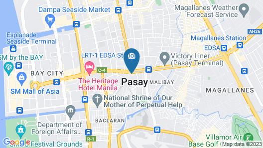 Hotel Sogo Pasay Rotonda Map