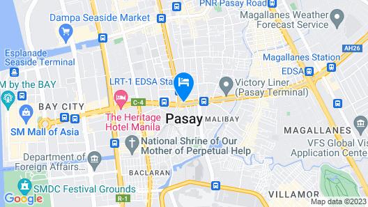 Kabayan Hotel Map