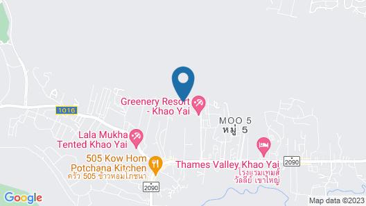 Botanica Khao Yai Map