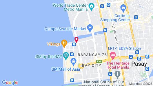 TRYP by Wyndham Mall of Asia Manila Map