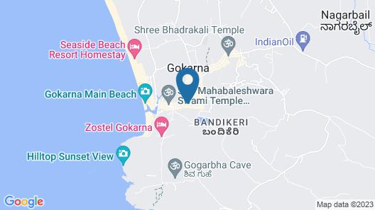 Iroomz Savitri Guest House Map