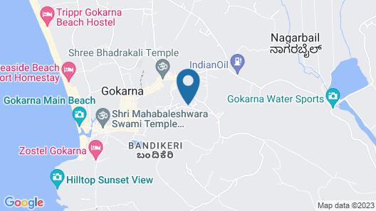 Kawari Resorts Gokarna Map