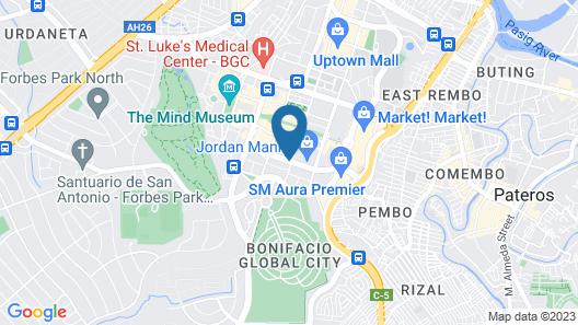 Avant BGC Apartment by Central Flats Map