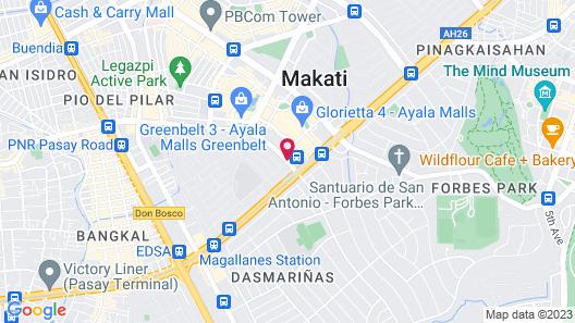 Dusit Thani Manila Map