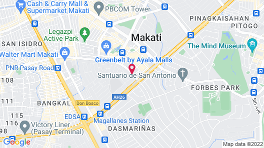 Makati Crown Regency Hotel Map