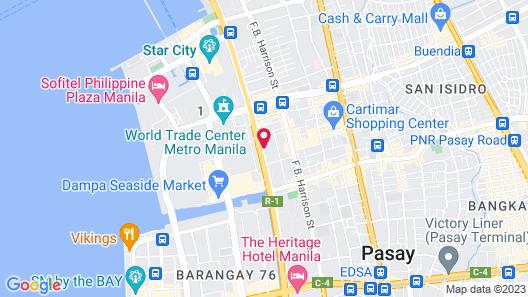 Hotel Sogo Roxas Blvd Map
