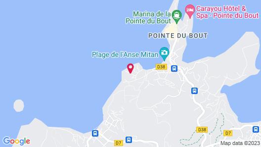 Hotel Bambou Map