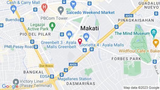 Holiday Inn & Suites Makati, an IHG Hotel Map