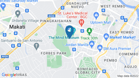 Forbeswood Heights BGC Map