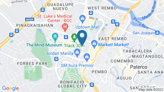 Seda Bonifacio Global City Map