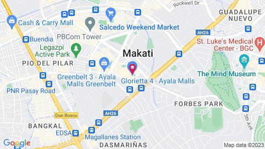 Ascott Makati Map