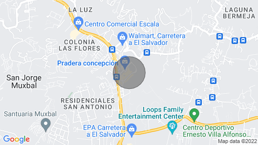 Pools Open-guatemala City-gated, New, 3 Pools & 24hr Security Map