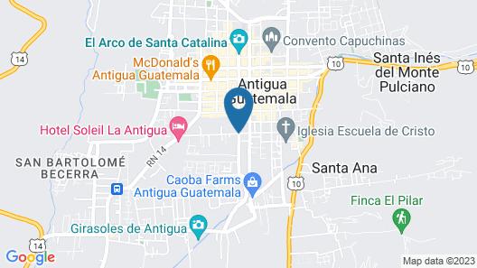 Casa Encantada Map
