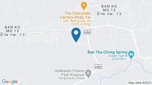 Villa Italia Khao Yai Map