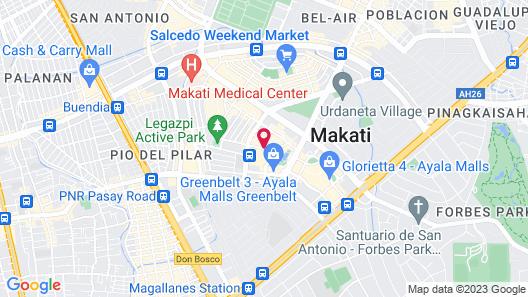 Makati Diamond Residences Map
