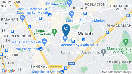 Makati Diamond Residences Map