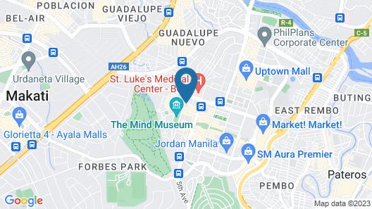 McKinley Park Residences Map