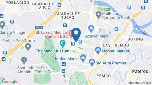 F1 Hotel Manila Map