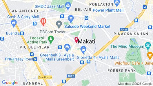 Makati Shangri-La, Manila Map