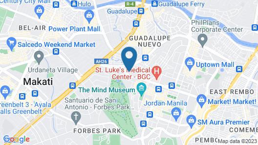 OYO 518 Mytown Amsterdam Map