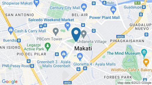 Somerset Olympia Makati Map