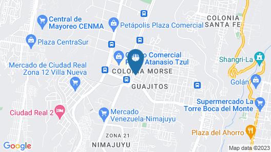 Casa Hermosa 20 Minutos del Aeropuerto Map