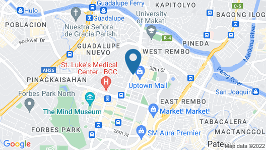 Gotophi at One Uptown Residence Map