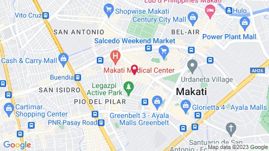 The Mini Suites - Eton Tower Makati Map