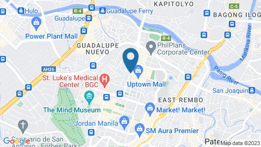 Grand Hyatt Manila Map