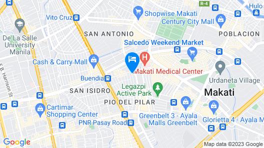 Amax Inn Makati II Map