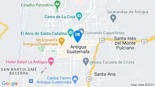 Hotel El Carmen Map