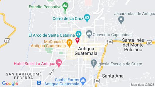 Hotel Casa Antigua Map