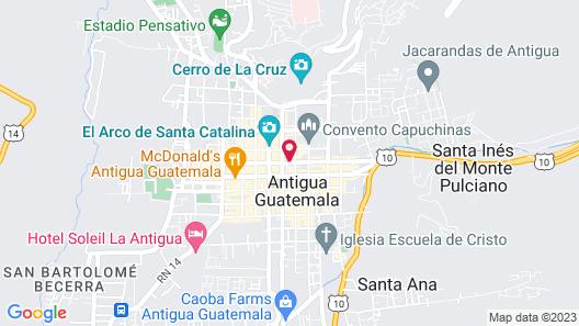 Las Cruces Boutique Hotel Map