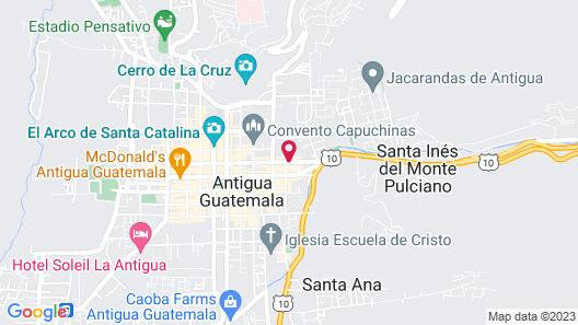 Hotel Museo Spa Casa Santo Domingo Map